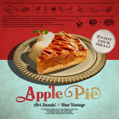 Airi Suzuki × Blue Vintage - Apple Pie (Digital Single)